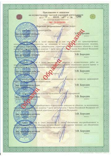 лицензия мвд 2